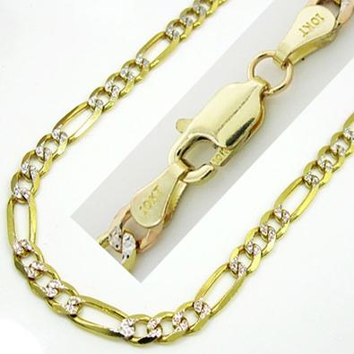Цепочка с бриллиантами, желтое золото 10 карат ... 89d9b0ca310