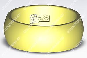 Россия, золотое кольцо - клеймо 585 пробы ff299a57bd9