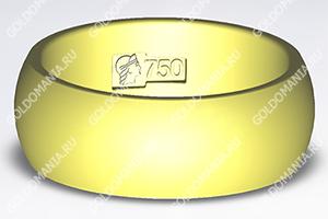 Россия, золотое кольцо - клеймо 750 пробы 955855d1c35