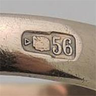 Золото 56 проба монета 1777
